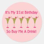 Es mi 21ro cumpleaños etiqueta