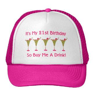 Es mi 21ro cumpleaños gorras de camionero