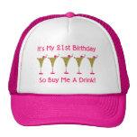 Es mi 21ro cumpleaños gorro de camionero