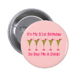 Es mi 21ro cumpleaños pin
