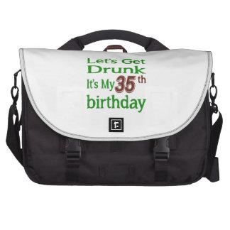 Es mi 35to cumpleaños bolsa para ordenador