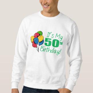 Es mi 50.o cumpleaños (los globos) jersey