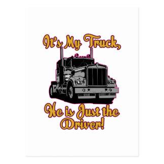 Es mi camión postal