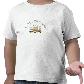 Es mi camiseta del cumpleaños