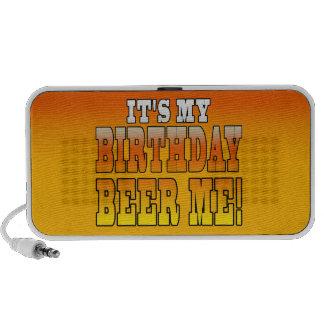 ¡Es mi cerveza del cumpleaños yo! Chiste divertido Altavoz