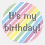 ¡Es mi cumpleaños! Etiquetas