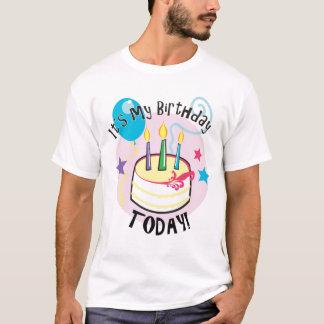 ¡Es mi cumpleaños hoy! Playera