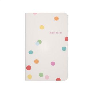 Es mi diario del bolsillo del fiesta - turquesa cuaderno grapado