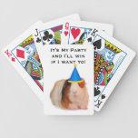 Es mi fiesta y ganaré si quiero - tarjetas baraja de cartas