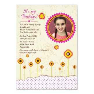 Es mi invitación de la foto del cumpleaños invitación 12,7 x 17,8 cm