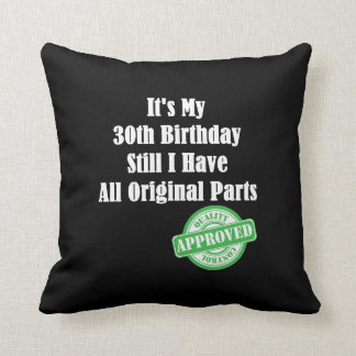 Es mi trigésimo cumpleaños cojín decorativo