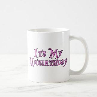 Es mi Unbirthday Taza De Café