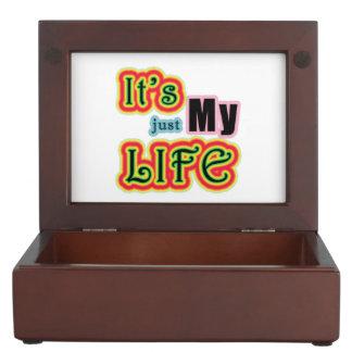 Es mi vida cajas de recuerdos