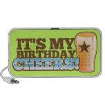 ¡Es mis ALEGRÍAS del cumpleaños! ¡cervezas! Mini Altavoces