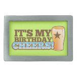 ¡Es mis ALEGRÍAS del cumpleaños! ¡cervezas! Hebillas De Cinturón