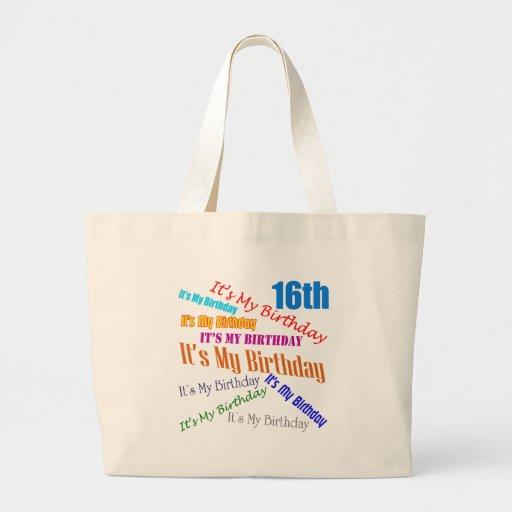 Es mis décimosexto regalos de cumpleaños bolsas de mano