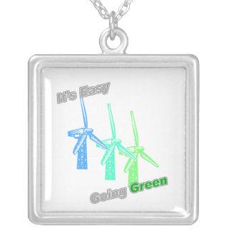 Es molinoes de viento tolerantes del verde 3 colgantes