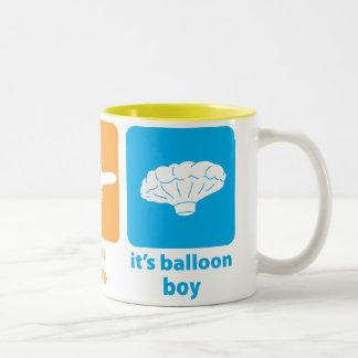 ¡Es muchacho del globo! Taza De Dos Tonos