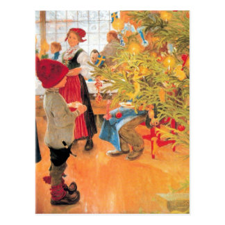 Es muchacho del tiempo del navidad otra vez - que postal