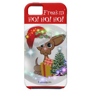 ¡Es navidad de Freakin de un perro ratonil - HO! iPhone 5 Carcasa