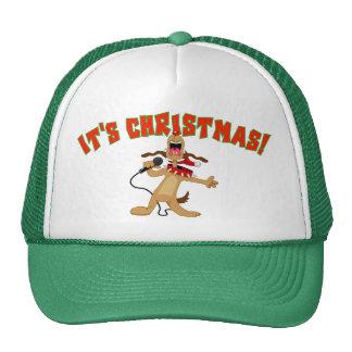 ¡Es navidad! Gorros Bordados