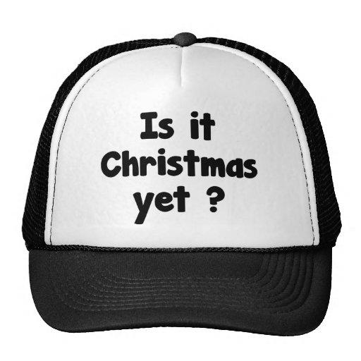 ¿Es navidad todavía? Gorras