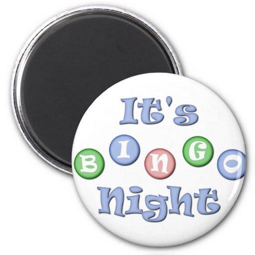 Es noche del bingo imanes