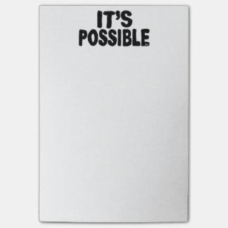Es notas de post-it posibles notas post-it®