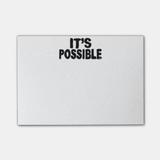 Es notas de post-it posibles post-it® nota