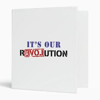 Es nuestra revolución