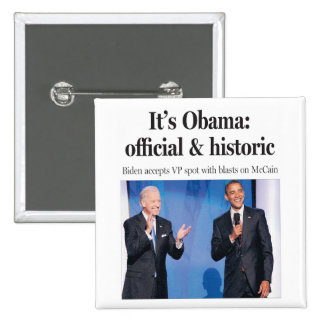 Es Obama: Botón oficial e histórico