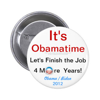 Es Obamatime Pins