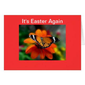 Es Pascua carda otra vez Tarjetón