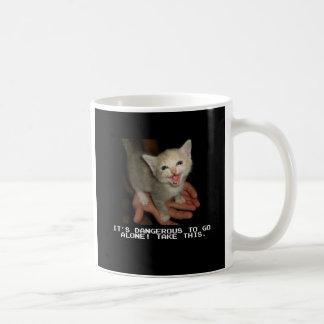 Es peligroso ir taza de café sola