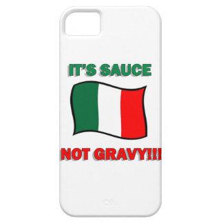 Es pizza divertida tom de Italia del italiano de iPhone 5 Carcasas