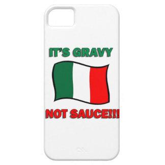 Es pizza divertida tom de Italia del italiano de iPhone 5 Fundas