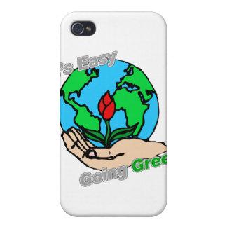 Es planeta verde tolerante iPhone 4/4S carcasa