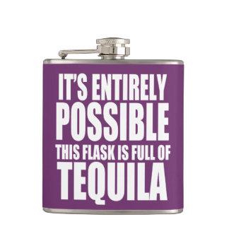 Es posible esto es mi frasco del Tequila