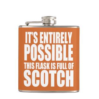 Es posible esto es mi frasco escocés petaca