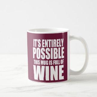 Es posible esto es mi taza del vino