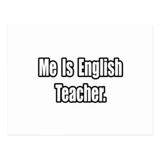 Es profesor de inglés postal