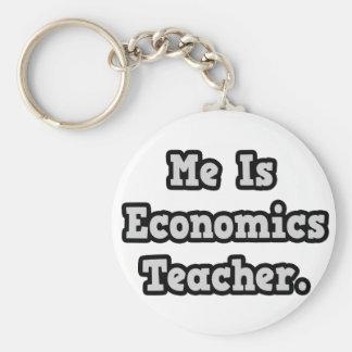 Es profesor de la economía llaveros personalizados