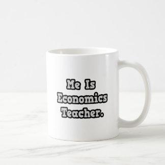 Es profesor de la economía tazas de café
