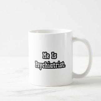Es psiquiatra taza básica blanca