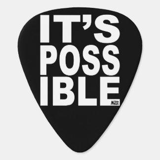 Es púa de guitarra posible