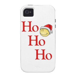 "¡Es Santa ""sonriente""! Case-Mate iPhone 4 Carcasa"