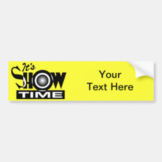 Es Showtime - el decir divertido americano del hum Pegatina Para Auto