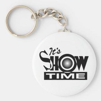 Es Showtime - el decir divertido americano del hum Llaveros Personalizados
