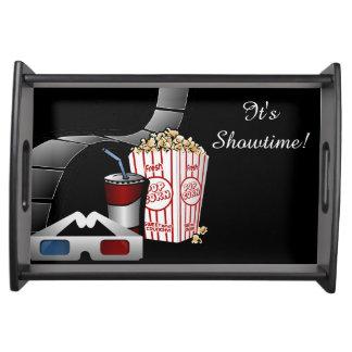 ¡Es Showtime! Tira y palomitas de la película de Bandeja