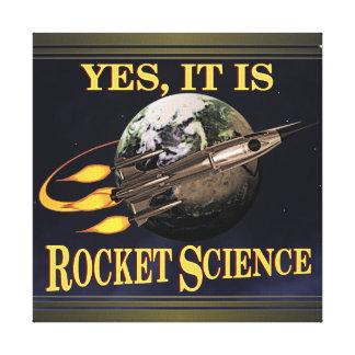 Es sí ingeniería espacial impresión en lona